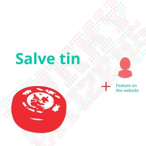salve tin - 25 ron donation